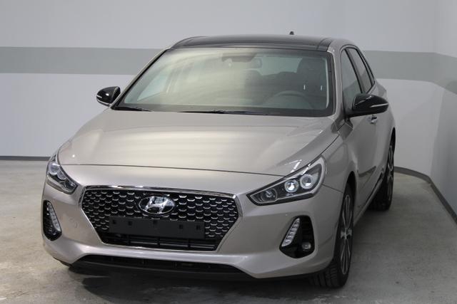Hyundai i30 - IMPRESSION NEUES MODELL PANORAMA LED NAVI SHZ LEDER Lenkrad beheizbar BSD SLIF El.Fahrersitz