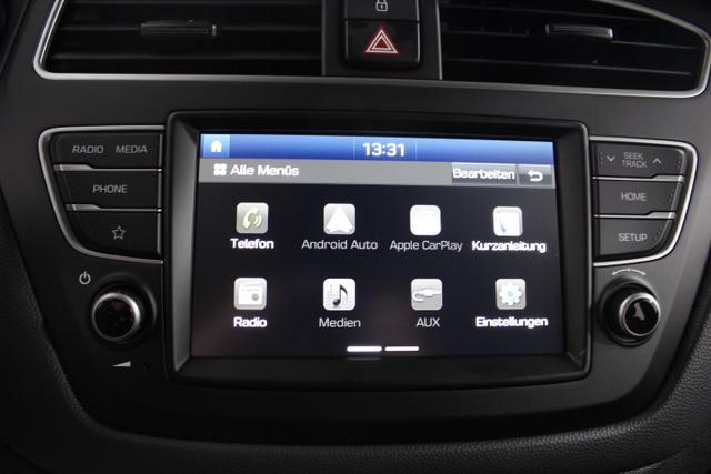 Hyundai i20 LIFE DCT Rückfahrkamera 7 Zoll Radio KLIMA EL.PAKET MF-LEDERLENKRAD