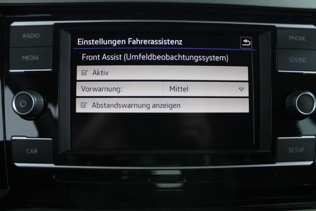 Volkswagen Polo Comfortline Plus KLIMA PDC v+h ACC FRONTASSIST COMP COLOUR
