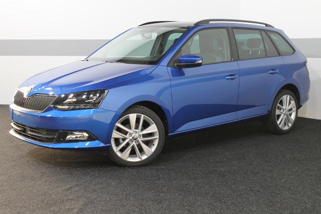 Skoda Fabia Combi - III Ambition PLUS ALU/Bluetooth/MAXI DOT PANORAMA PDC