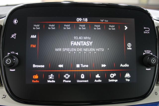 Fiat 500 LOUNGE AUT Licht/Regensensor KLIMAAUTOMATIK Uconnect