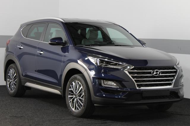 Hyundai Tucson - IMPRESSION 4WD DCT PANORAMA LEDER BSD ACC AEB NAVI KRELL SmartKey