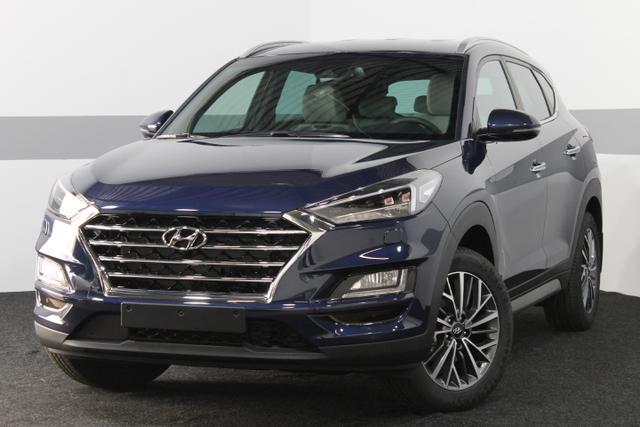 Hyundai Tucson - IMPRESSION NAVI LED KRELL LEDER SmartKey 18ALU EL.Sitze 360 Kamera