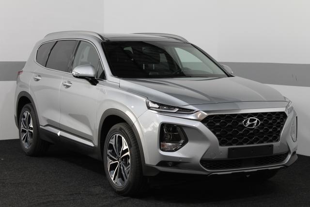 Hyundai Santa Fe - IMPRESSION Vollausstattung AUT PANORAMA NAVI LEDER ACC HEAD-UP SMART KEY SHZ v h Arround View Monitor Lagerfahrzeug
