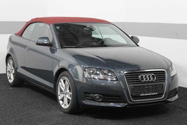Audi A3 Cabriolet - Ambition KLIMAAUTO LEDER SHZ LICHT- REGENSENSOR TÜV NEU