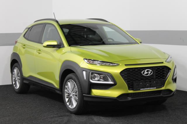 Hyundai Kona - Style LIME KLIMAAUTOMATIK PDC TEMPOMAT BLUETOOTH ALU LKA DAW