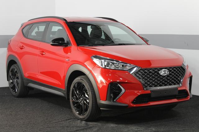 Hyundai Tucson - N-LINE STYLE DCT NAVI KLIMAAUTO RFK SHZ + LENKRAD-HZG TEMPOMAT BLUETOOTH