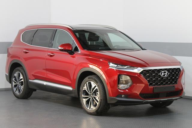 Hyundai Santa Fe - IMPRESSION Vollausstattung FULL LED ACC PANO HEAD-UP 360° NAVI KRELL DAB SHZ+BELÜFTUNG