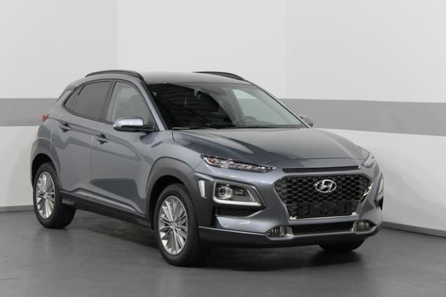 Hyundai Kona - Premium DCT 4WD SHZ LED RFK PDC AndroidAuto CarPlay TEMPOMAT KLIMAAUTOMATIK