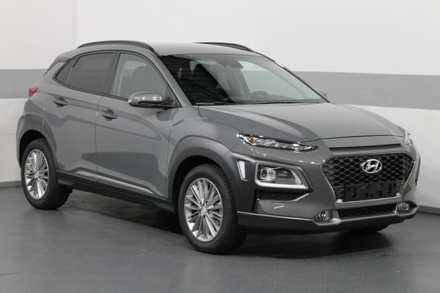 Hyundai Kona Premium DCT 4WD SHZ LED RFK PDC AndroidAuto CarPlay TEMPOMAT KLIMAAUTOMATIK