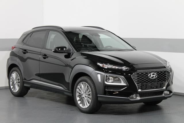 Hyundai Kona - Premium DCT 4WD SHZ LED RFK PDC AndroidAuto CarPlay TEMPOMAT KLIMAAUTOMATIK Lagerfahrzeug