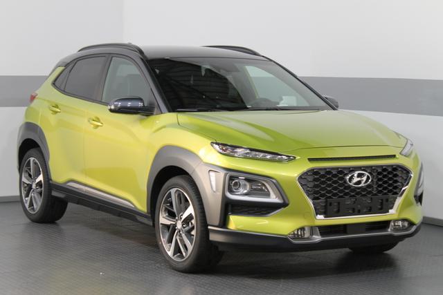 Hyundai Kona - Impression DCT 4WD KRELL LED SmartKey SmartSense SHZ Head-Up Display PDC v h RFK Lagerfahrzeug