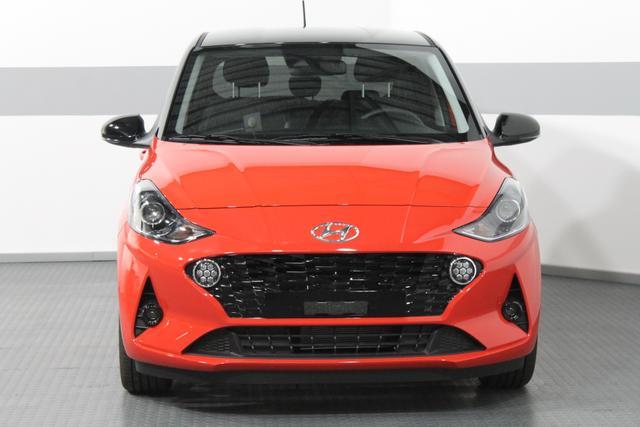 Hyundai i10 - PREMIUM NAVI KLIMA TEMP RÜCKFAHRKAMERA 16ALU LKA DAA BLUETOOTH HBA