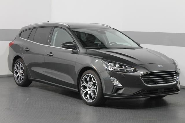 Ford Focus Turnier - TITANIUM PANORAMA LED KEYLESS SHZ ParkPilot RFK 18ALU El.Heckklappe