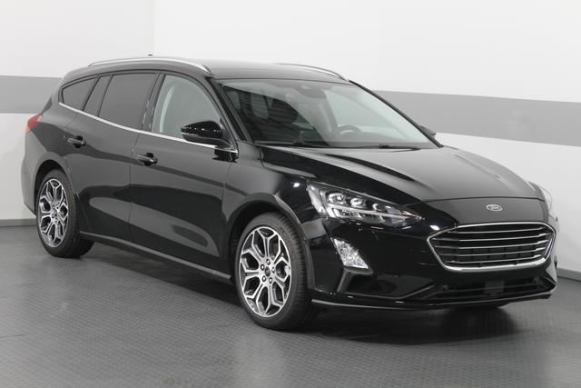 Ford Focus - TITANIUM PANORAMA LED KEYLESS SHZ ParkPilot RFK 18ALU El.Heckklappe