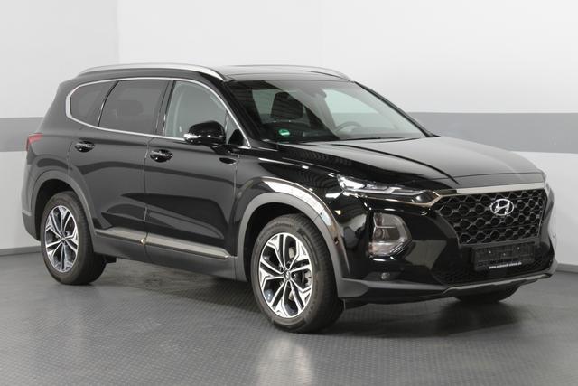 Hyundai Santa Fe - IMPRESSION Vollausstattung AUT PANORAMA NAVI LEDER ACC HEAD-UP SMART KEY SHZ v+h Arround View Monitor
