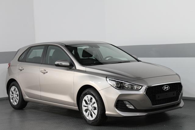 Hyundai i30 - TREND RADIO KLIMA TEMPOMAT AEB DAA FCWS LKAS Vorlauffahrzeug kurzfristig verfügbar