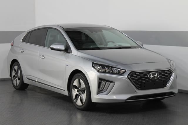 Hyundai IONIQ - 1.6 GDI Hybrid Premium ACC-TEMPOMAT LED NAVI SHZ SMARTKEY PDC RFK KLIMAAUTOMATIK LKW HBA BSD Vorlauffahrzeug kurzfristig verfügbar