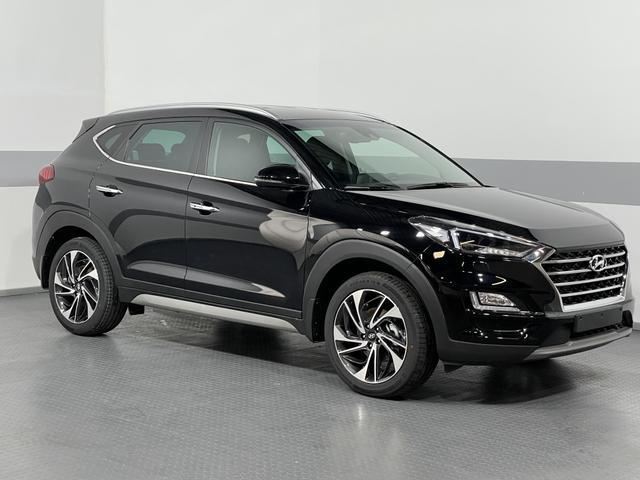 Hyundai Tucson - IMPRESSION NAVI LED SHZ 360KAMERA BSD SMART KEY Vorlauffahrzeug kurzfristig verfügbar