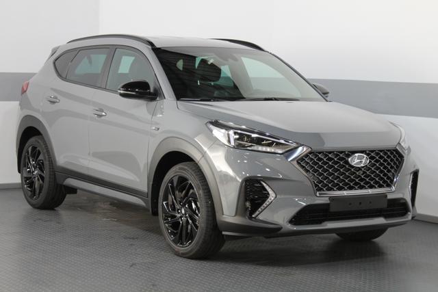 Hyundai Tucson - PREMIUM N-LINE 4WD DCT LED NAVI SHZ RFK PDC v h Vorlauffahrzeug kurzfristig verfügbar