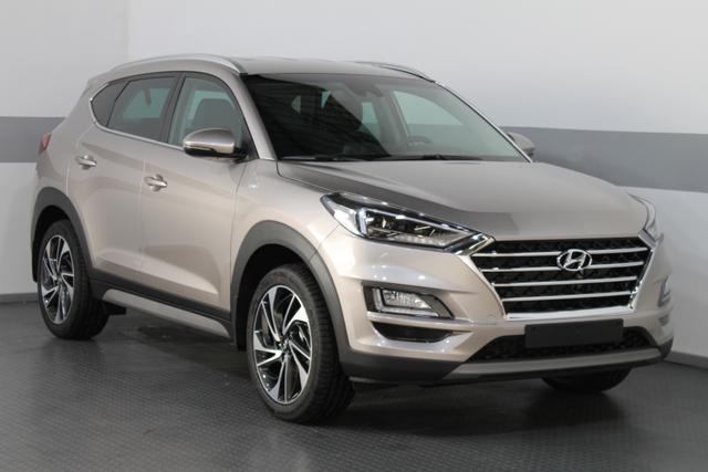 Lagerfahrzeug Hyundai Tucson - PREMIUM NAVI LED SHZ 19ALU SLIF PDC v h LKAS