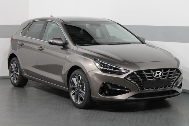 Lagerfahrzeug Hyundai i30 - IMPRESSION PLUS MildHybrid IMT SHZ NAVI LED KEYLESS RFK PDC