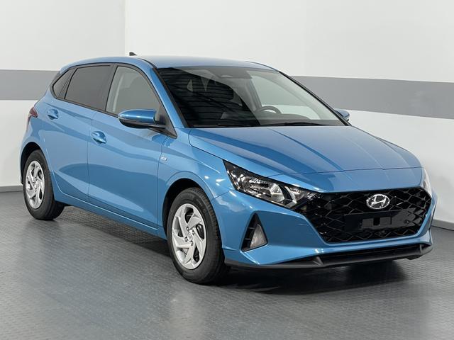 Lagerfahrzeug Hyundai i20 - COMFORT PLUS MHEV 48V KLIMAAUTOMATIK REGENSENSOR RFK PDC BLUETOOTH FCA AndroidAuto