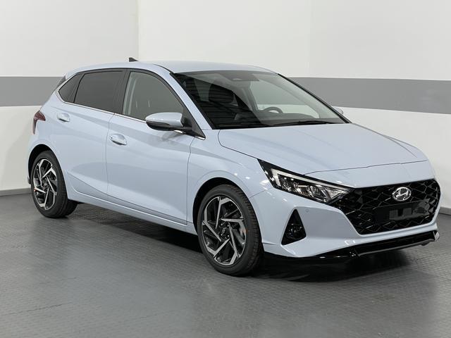 Lagerfahrzeug Hyundai i20 - PERMIUM PLUS NAVI LED SHZ KLIMAAUTOMATIK PDC v h SmartKey