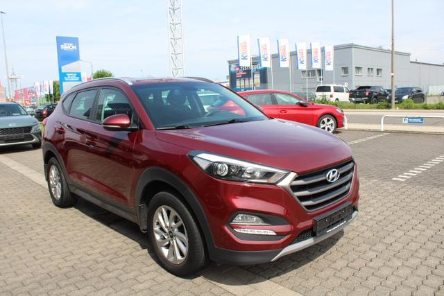 Gebrauchtfahrzeug Hyundai TUCSON - Style PLUS SHZ Bluetooth ALU 2WD, Klim, 17 Zoll, LED,