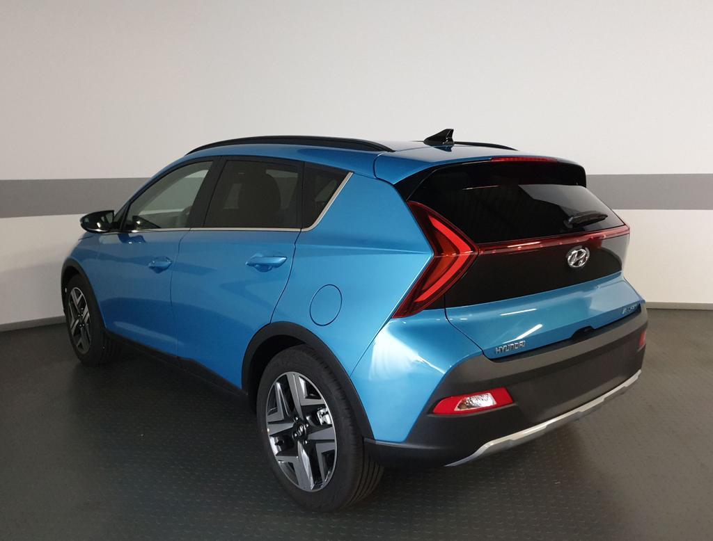 Hyundai / Bayon / Blau / Premium  / Blau / NAVI SHZ LED digitales Display KLIMAAUTOMATIK