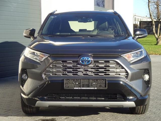 Toyota RAV4 - Black Edition 2,5 Hybrid CVT 4WD 160kW H3 2021