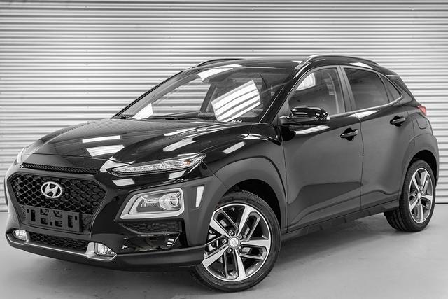 Hyundai Kona - 1,6 T-GDI 4WD AT Premium - LAGER Lagerfahrzeug