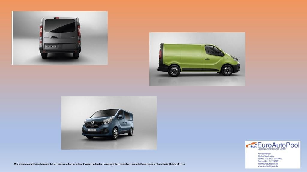 Basis Renault Trafic Dachantenne
