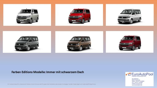 Volkswagen T6.1 California Beach Camper Edition 2.0 TDI 110kW/150PS Schalter