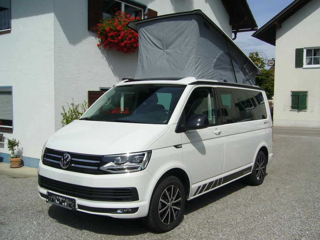 volkswagen t6 california beach edition 2 0 tdi adblue bmt 6 gang 110kw modell 2018 navi. Black Bedroom Furniture Sets. Home Design Ideas