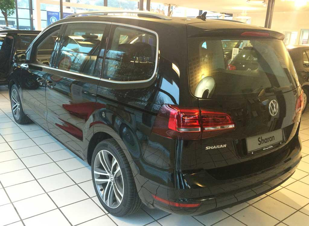 volkswagen sharan highline 1 4 tsi bmt dsg reimport dk. Black Bedroom Furniture Sets. Home Design Ideas