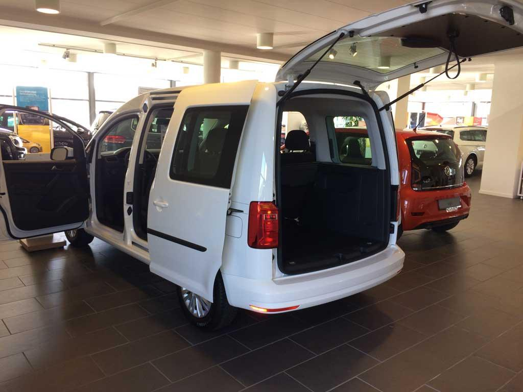 volkswagen caddy trendline 2 0 tdi bmt reimport dk. Black Bedroom Furniture Sets. Home Design Ideas