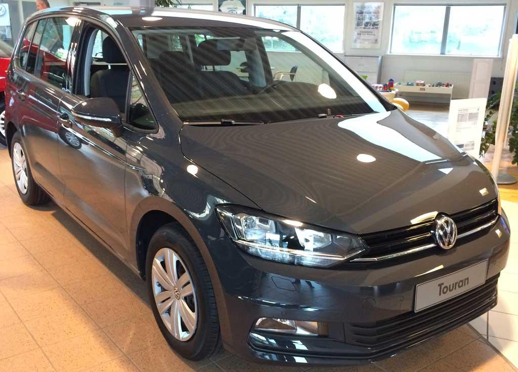 volkswagen touran trendline 1 6 tdi scr bmt reimport dk. Black Bedroom Furniture Sets. Home Design Ideas