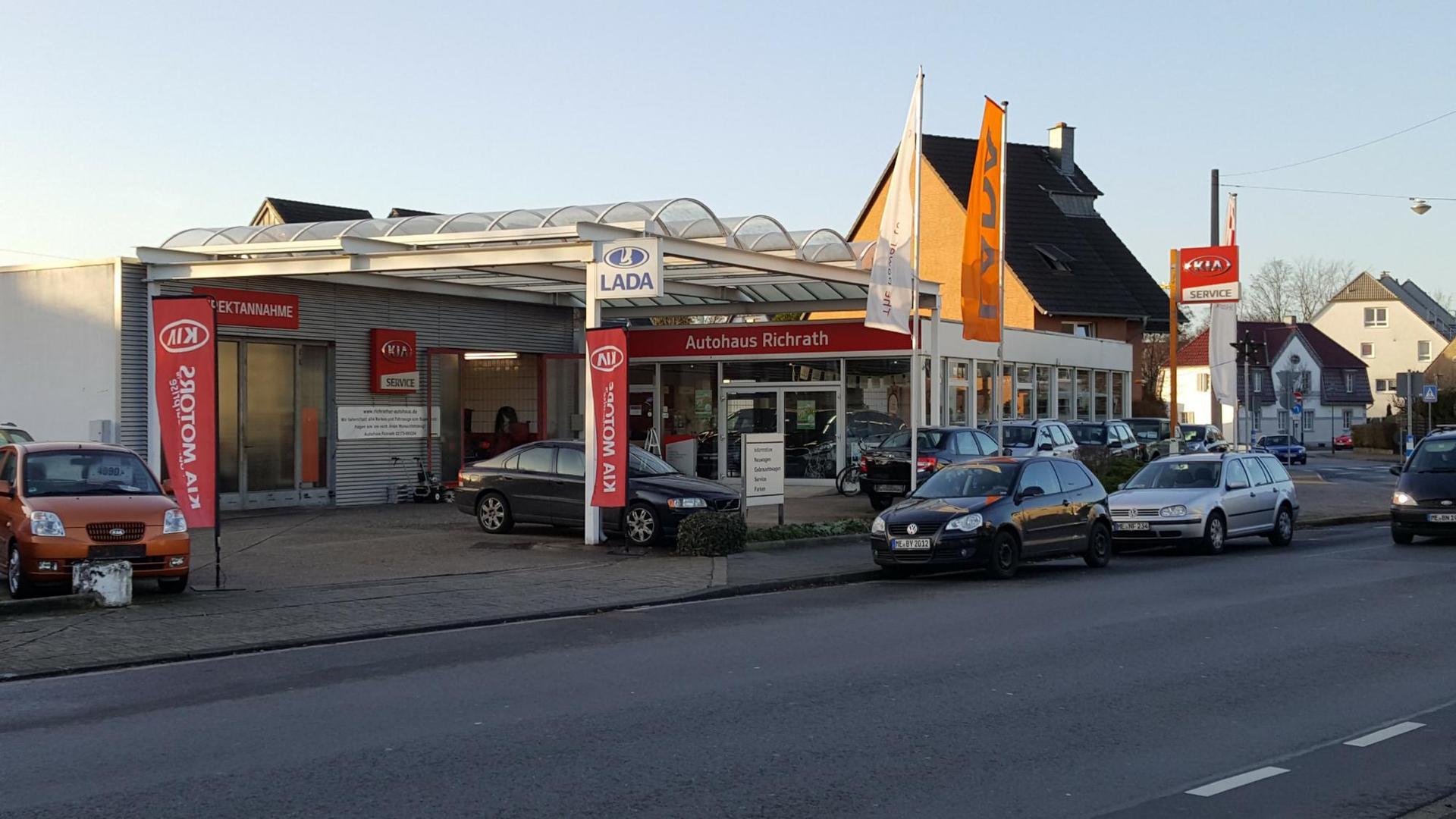 Autohaus Richrath e.K - Autohaus & KIA Werkstatt - EU-Neuwagen