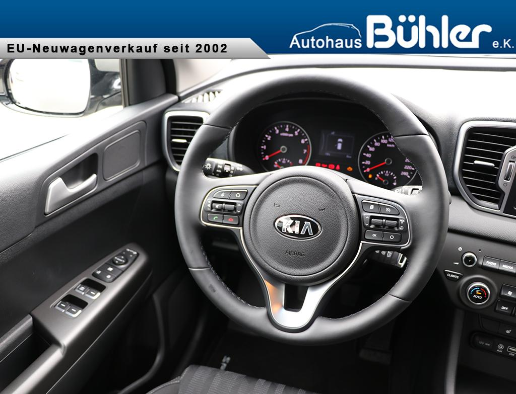 Kia Sportage Facelift 2019 1.6GDI Navigation, Sitzheizung vo+hi, 17 ...