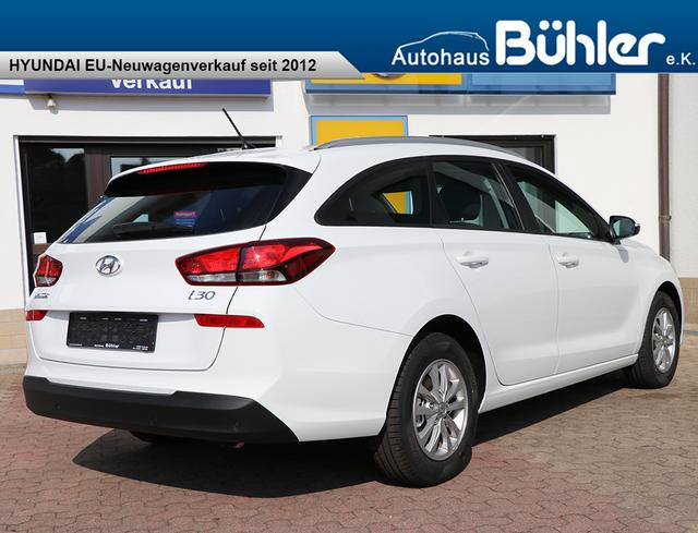 Hyundai i30 Kombi 1.0T-GDI Select Plus - polar white
