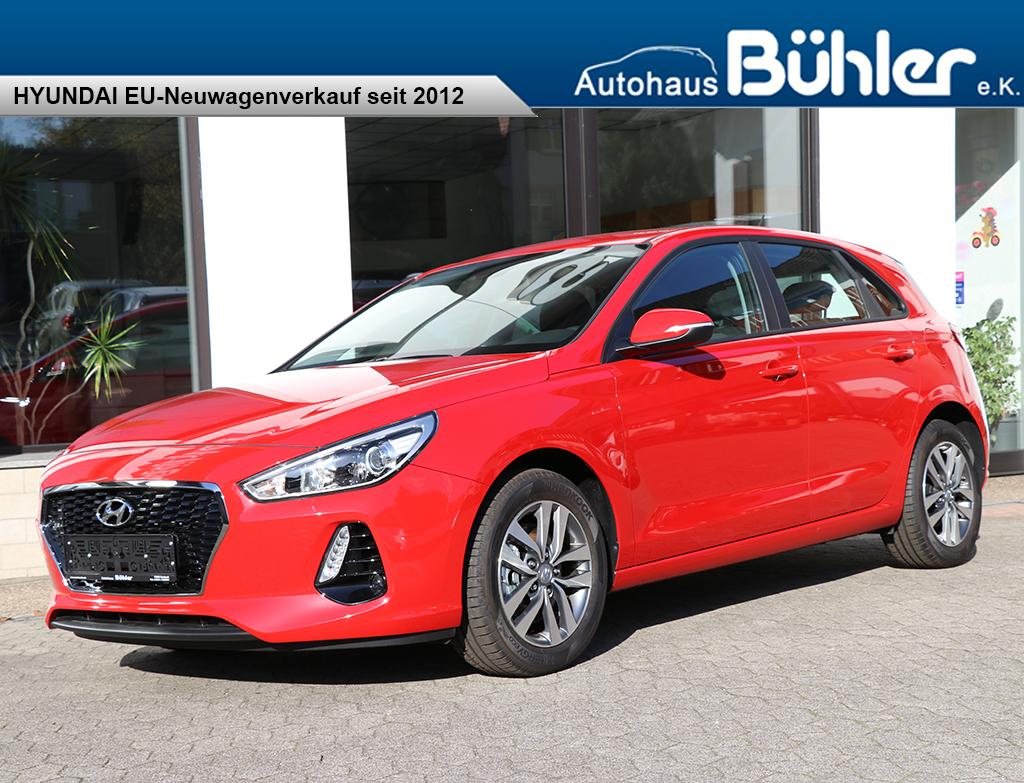 Hyundai i30 2017 1.0T-GDI Special - engine red