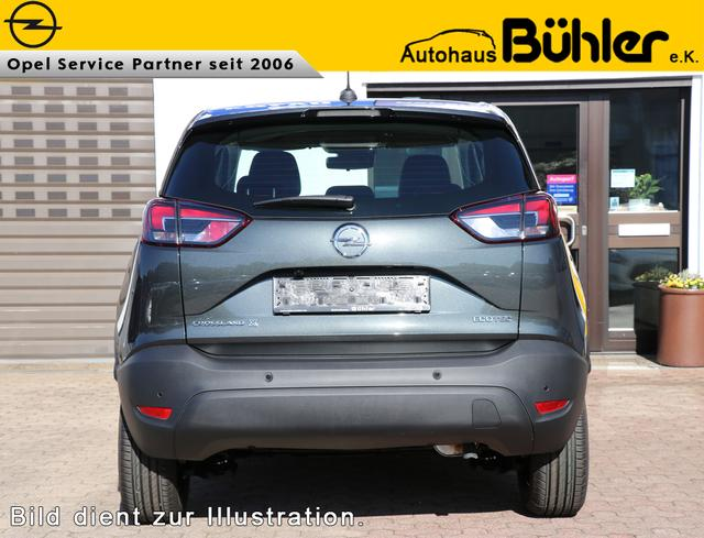 Opel Crossland X 1.2 Edition - graphit grau