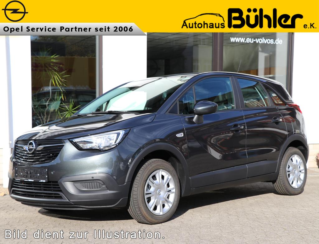 opel crossland x 2019 edition 1 2 direct injection turbo 81kw bestellangebot eu neuwagen. Black Bedroom Furniture Sets. Home Design Ideas