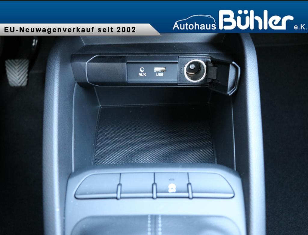 kia stonic 1 2 klima bluetooth radio usb autohaus buehler. Black Bedroom Furniture Sets. Home Design Ideas