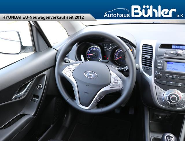 Hyundai ix20 Limited - polar white