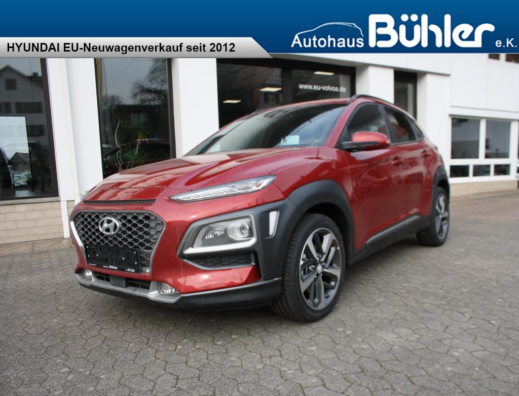 Kona 1.6T-GDI 4WD DCT Premium - pulse red