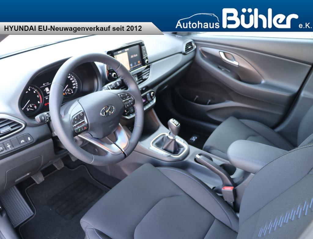Hyundai i30 Kombi 1.4T-GDI Go - Interieur
