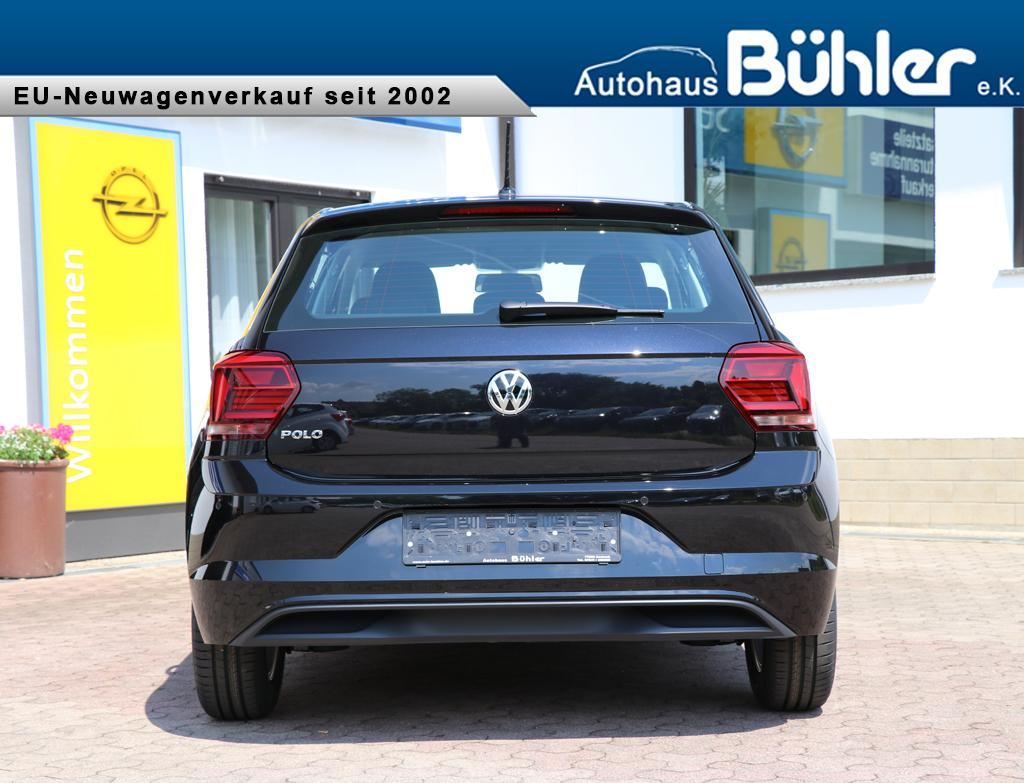 volkswagen polo 2018 comfortline 1 0tsi 70kw einparkhilfe vorne und hinten radio composition. Black Bedroom Furniture Sets. Home Design Ideas