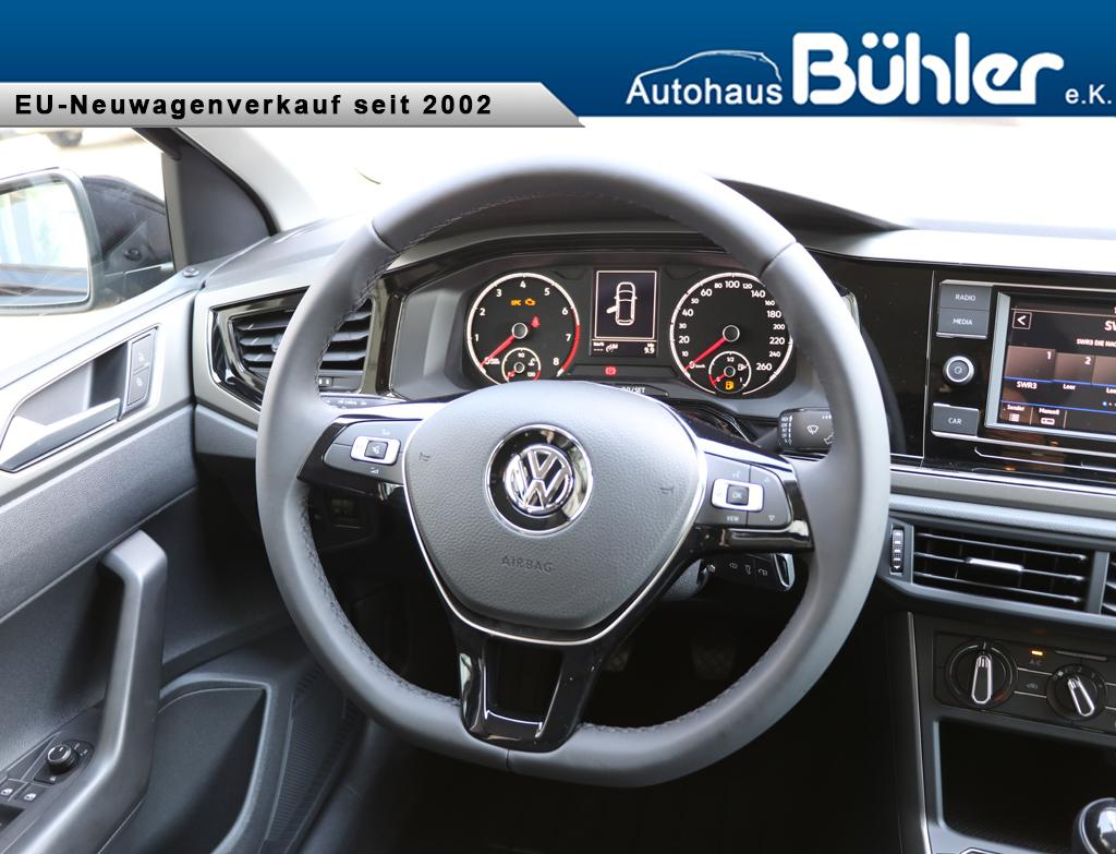 Volkswagen Polo 2018 Comfortline 1.0TSI 70kW Einparkhilfe vorne und ...